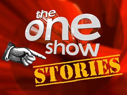 On the BBC's One Show