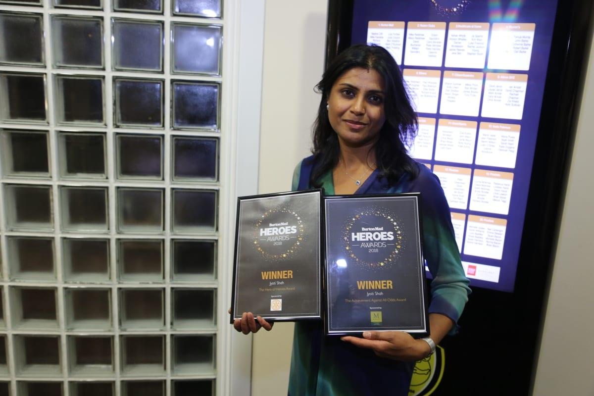 Burton Mail Hero Awards