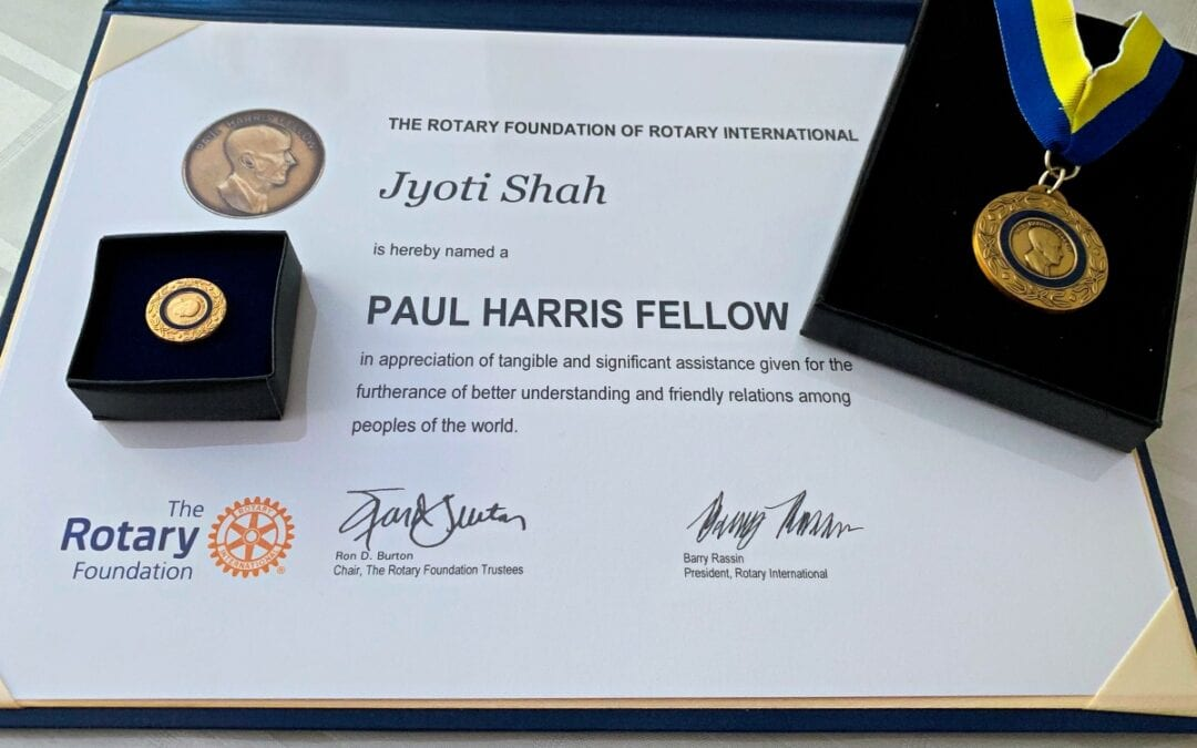 Rotary International Paul Harris Fellowship